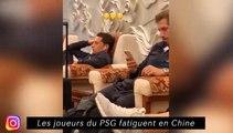 Les joueurs du PSG fatiguet en Chine - Coco se présente en chanson à Nantes