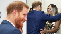 Prince Harry Gives Rita Ora A Big Hug At Sentebale Charity Event -Meghan