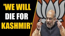 After Kashmir, Amit Shah sets eyes on PoK and Aksai Chin