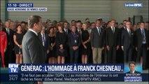 Une minute de silence en hommage à Franck Chesneau, le pilote du Tracker mort à Générac