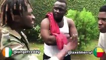 Quand un ivoirien se clashe avec un béninois, voici ce que ça donne. Trop drôle !