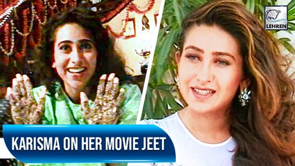 Karisma Kapoor Talks About Her Role In Jeet | Flashback Video