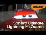 Lightning McQueen tours the Top Gear HQ