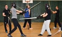 """Les """"Lames d'en temps"""", une école d'arts martiaux historiques européens ouvre à Thann"""