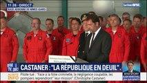 """Hommage à Franck Chesneau: Christophe Castaner assure que """"la France n'oublie jamais ceux qui s'ont tombés pour la servir"""""""