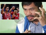 Letran coach Aldin Ayo on Manny Pacquiao: 'Pangalan pa lang motivation na'