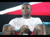 LeBron James Nike Rise Press Conference