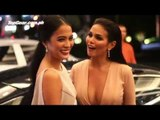 That night we drove two beautiful actresses to the Star Magic Ball