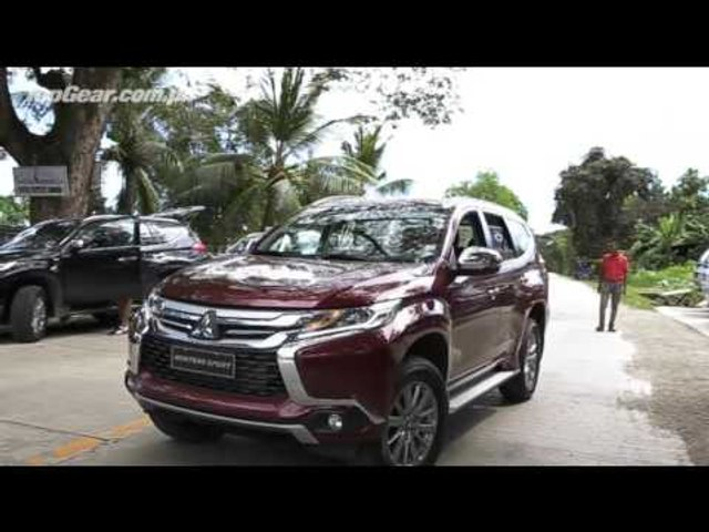 We drive the all-new Mitsubishi Montero Sport in Cebu