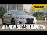 All-new Subaru Impreza at the Singapore Motorshow 2017