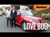 I drove my son to his prom in a VW Beetle