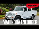 What's it like driving the Mahindra Enforcer?