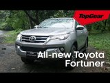 The all-new Toyota Fortuner's style game is on point
