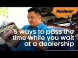 5 ways to pass the time in a dealership