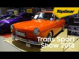 The classic cars and new cars at Trans Sport Show 2018
