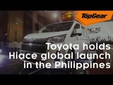 Advertisement: Here's why the all-new Toyota Hiace's global launch was held in the Philippines