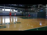 Shooting game at SMB practice