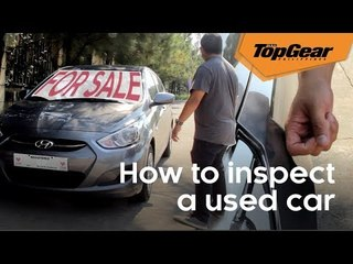 5 things to do when inspecting a secondhand car
