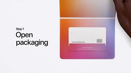 Apple Card — How to activate your titanium card with iPhone X and earlier — Apple
