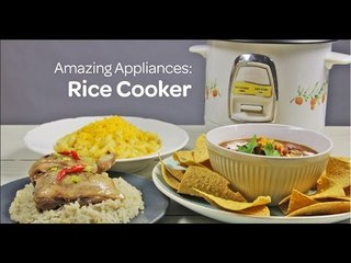 Amazing Appliance: Rice Cooker