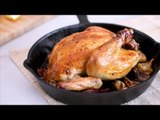 Buttery Garlic Roast Chicken Recipe | Yummy PH