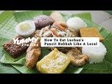 How To Eat Pancit Habhab Like A Local | Yummy Ph