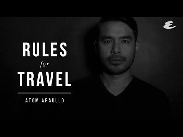 Atom Araullo Follows These Rules When Traveling