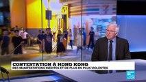 Hong Kong : Les manifestants déterminés, au moins 6 000 soldats chinois prêts à intervenir