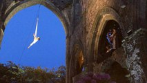 Les Escales de nuit - spectacle de danse aérienne et musique