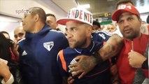 Brésil: Sao Paulo - Dani Alves donne rendez-vous à ses nouveaux supporters