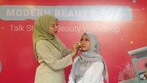 Tutorial Pakai Double Cushion untuk Ciptakan Makeup Natural ala Vivi Thalib
