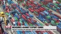S. Korean companies seeking countermeasures against Japan's export restrictions