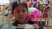 Inde : des enfants risquent leur vie pour nos produits de maquillage