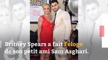 Britney Spears fait l'éloge de son petit ami Sam Asghari