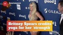 Britney Spears Taps Into The World Of Yoga