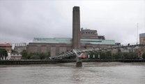 Le petit Français de 6 ans poussé du Tate Modern de Londres a la colonne vertébrale brisée