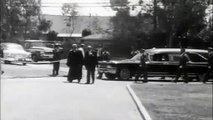 Marilyn Monroe - Funeral ( Brief clip) 1962