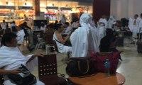 Jemaah Calon Haji Dengan Maktour Tiba di Jeddah