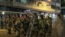 Hong Kong protesters condemn police as Beijing escalates rhetoric