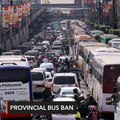 MMDA's provincial bus ban dry run pushing through despite court order