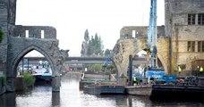 En Belgique, un pont va être détruit pour favoriser le passage de plus gros bateaux