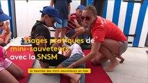 """Savoir réagir en cas de noyade grâce aux stages """"Mini sauveteurs"""" de la SNSM"""