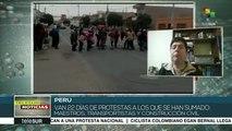 Inicia paro regional indefinido en Arequipa contra proyecto Tía María