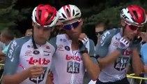 Cyclisme - L'hommage à Bjorg Lambrecht sur la 4e étape du Tour de Pologne