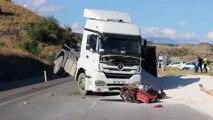 Tırın çarptığı motosiklet sürücüsü hayatını kaybetti - KASTAMONU