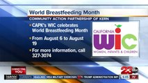 Community Action Partnership of Kern is hosting a series of events to celebrate World Breastfeeding Month