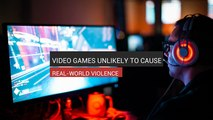 Video Games Unlikely To Cause Real-World Violence