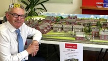Tiny Town! Real Estate Agent Offers to Sell Client's Model Village, Complete with Model Train