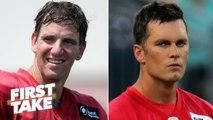 Eli Manning getting paid more than Tom Brady makes me sick - Ryan Clark - First Take