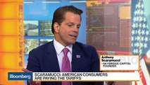 Scaramucci Says Trade War May Lead to Liquidity Crisis, Sees Trump Winning in 2020